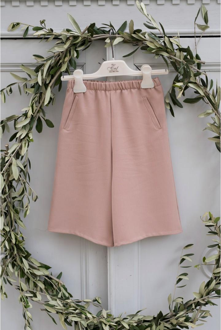 Pink Gaucho Pants