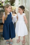 Navy Magnolia Sundress
