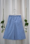Navy Stripes Gaucho Pants