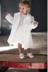 cappotto classico avorio
