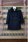cappotto classico blu